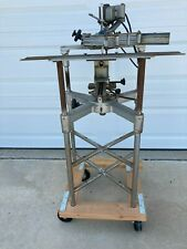 New Hermes Pantograph Engraving Machine On Stand With Dolly