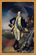 Portrait of George Washington Charles Willson Peale Amerika Präsident B A1 01134