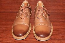 ROCKPORT NWOB Adiprene by ADIDAS CRAFTED CUP TOE BROWN LEATHER OXFORD MEN SZ 9 M
