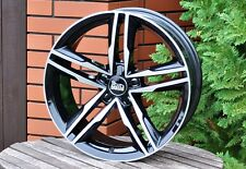 19 Zoll MAM A1 Alu Felgen 5x112 et30 ABE schwarz poliert für Audi A4 A5 A6 A8 Q5