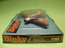 DINKY TOYS 710 PLANE BEECHCRAFT S35 BONANZA - RARE SELTEN - GOOD COND. IN BOX