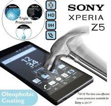 100% authentique protection d'écran verre trempé 9H E6603/E6653 pour Sony Xperia Z5