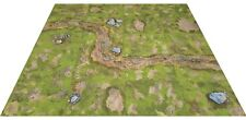 Modular Grasslands Game Board, Digital Download Warhammer terrain scenery 40k