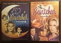 Bewitched Seasons 1 2 3 4 (DVD, 2014) 12 Disc Set ~ 1960's TV Sitcom FACTORY NEW