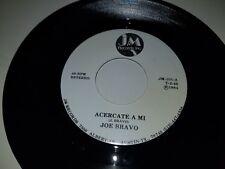 "JOE BRAVO Acercate A Mi / Viva Quien Sabe JM 101 45 VINYL RECORD 7"" TEJANO"