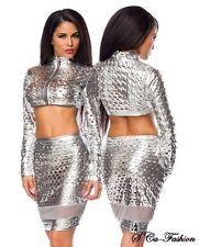 Markenlose Zweiteilige Damen-Kombinationen mit Jacket/Blazer
