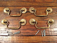 bail pull brass antique drawer pulls for sale ebay