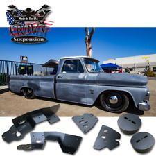 1963-1972 Chevrolet Chevy C10 Lowering Drop Air Ride Airbag Brackets Cups Plates
