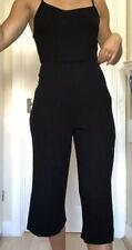 Black Bershka Playsuit Jumpsuit Size 8
