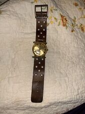 Vintage Steampunk Arnex France 17 Jewel Shockproof Watch -Running-Wind Up-