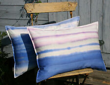 Kissen Kissenhülle Balance 40x60 Streifen blau rosa violett Dekokissen Proflax