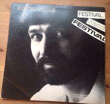 Mat Marucci-Festival - 1981 Vinyl LP-Marco MC-112