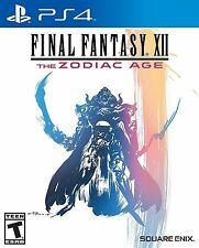 New! Final Fantasy XII 12 Zodiac Age PS4 Standard Edition Preorder 7/11/2017