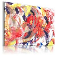 ABSTRACT PAINTING OIL PRINT CANVAS WALL PICTURE LARGE SIZES AB647  MATAGA