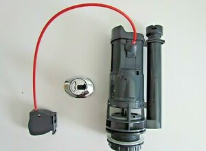 MACDEE / WIRQUIN CABLE OPERATED DUAL FLUSH VALVE WITH BUTTON AFV50100 / AFV50200