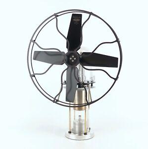 Warpfive Windjammer 2 Table Fan - Hot Air Stirling engine - JOST STYLE
