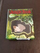 New Walt Disney The Jungle Book 35th Anniversary Baloo Pin In A Box