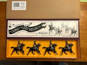 Britains Toy Soldiers Crimean War Charge of Light Brigade 13th Light Dragoon3112