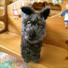 RARE Early Farnell Mohair Antique Scotty Terrier Dog British 1920/30s Teddy Bear