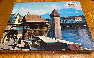 NEW SEALED 1972 MILTON BRADLEY SPRINGFIELD JIGSAW PUZZLE 1000 PIECES 4278-7