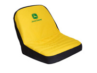 John Deere 15 in. Riding Mower Seat Cover Water Resistant 92324 Yellow New