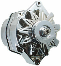 Alternator - 10SI 1 - WIRE CHROME 7152CN - 94A Fits Mercruiser & OMC