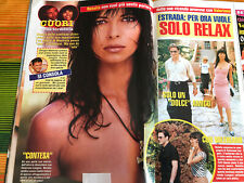 NATALIA ESTRADA ARTICOLI CLIPPINGS  10 PAGINE,  topless