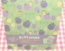 Lemon / Vegetable Flower Owl Square Letter Memo Pad / Japan Stationery