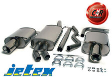 Audi A4 Avant 8E 1.8T Stainless Steel Jetex Exhaust System 44DH2R 01-05