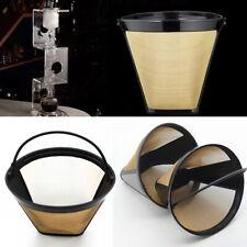 Kaffee Dauerfilter Stil GTF Goldton Filter für Kaffeemaschine Bequem new