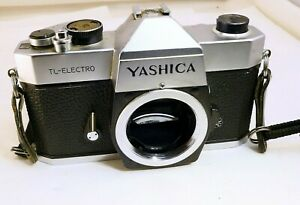 Yashica TL Electro 35mm SLR Film M42 Camera parts or repair AS IS Not working