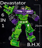 "New Deformabl Engineering Truck Robot Combiner Devastator Action Figure 8"" Toys"