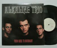 Alkaline Trio ‎– From Here To Infirmary LP 2001 US ORIG Vagrant GREEN DAY AFI