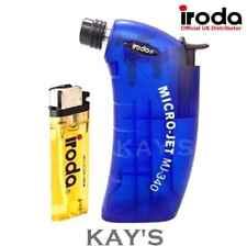 PRO IRODA MJ-340 BUTANE GAS MICRO FLAME BLOW TORCH REFILLABLE CORDLESS HEAT GUN