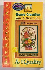 RARE Home Creation Art & Craft Kit Devdas Tikki Painting A-1 Quality