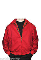 James Dean hellrote Jacke Harrington Jacked Rockabilly  50er Rock n Roll Blouson