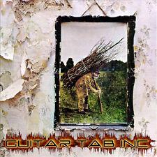 Led Zeppelin IV Digital Guitar Bass Tab Lessons Disc Jimmi Page John Paul Jones