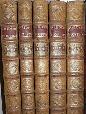 Hoffmann Médecine Oeuvre Edition originale De tournes 1740 6 volumes in folio Op