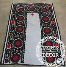 UZBEK SILK HAND EMBROIDERED SUZANI JOYPYSH # 8482