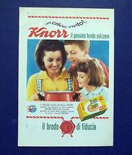 A732-Advertising Pubblicità-1964-BRODO KNORR