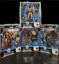McFarlane DC Multiverse Last Knight Bane, Batman,Scarecrow, Omega, Wonder Woman