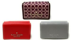 Kate Spade New York Staci micro Tri Fold Wallet Credi Card Holder $99