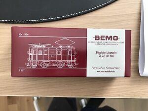 Bemo 1256 132 RhB Ge 2/4 222 Stangenelok digitalisiert mit Sound
