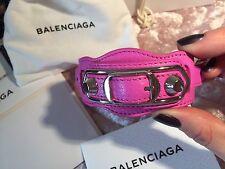 BALENCIAGA Classic Metallic Edge Bracelet Size S Brand New With Box And Receipt!