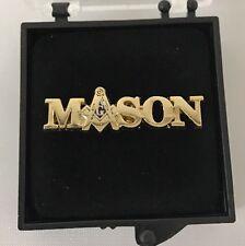 Freemason Masonic Mason Lapel Pin