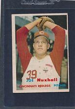 1957 Topps #103 Joe Nuxhall Reds EX 57T103-111215-1