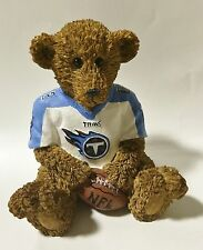 Tennessee Titans NFL Football Ceramic Mini Teddy Bear Figurine by Elby Gifts