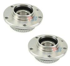 Pair Set 2 Front WJB Wheel Bearing & Hub Kits for BMW E34 525i E32 735i E31 850i