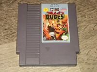 Bad Dudes Nintendo Nes Cleaned & Tested Authentic