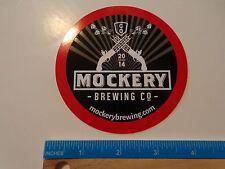 Beer STICKER ~ MOCKERY Brewing Co Guns ~ Denver, COLORADO ** 100s More in STORE+